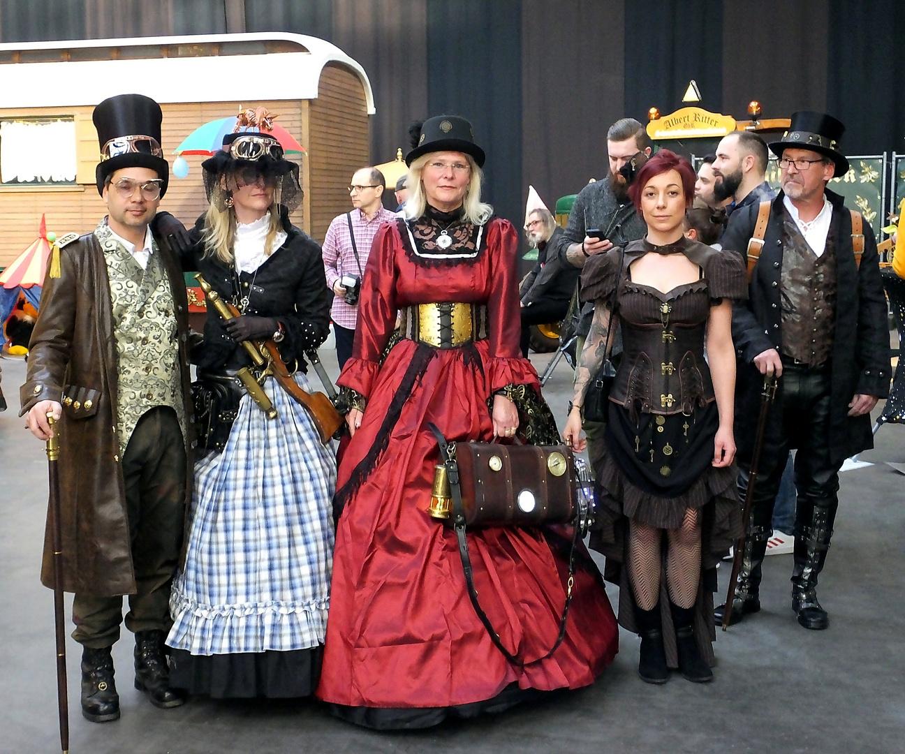 Steampunk Gruppe