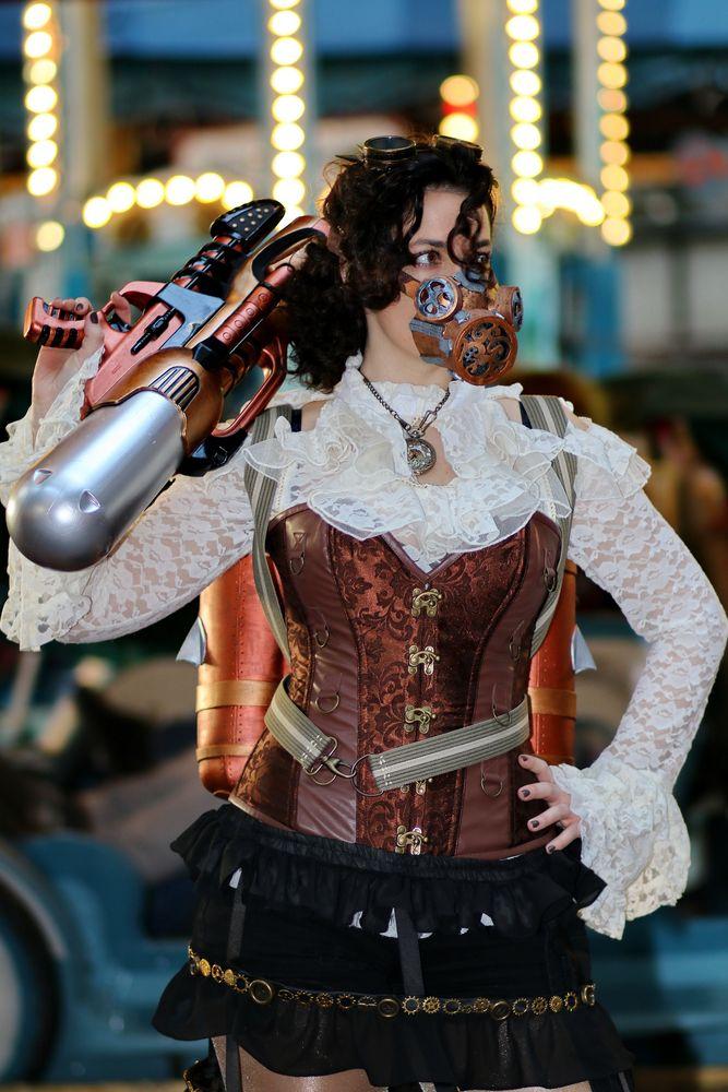 steampunk jahrmarkt 02 foto  bild  szene cosplay
