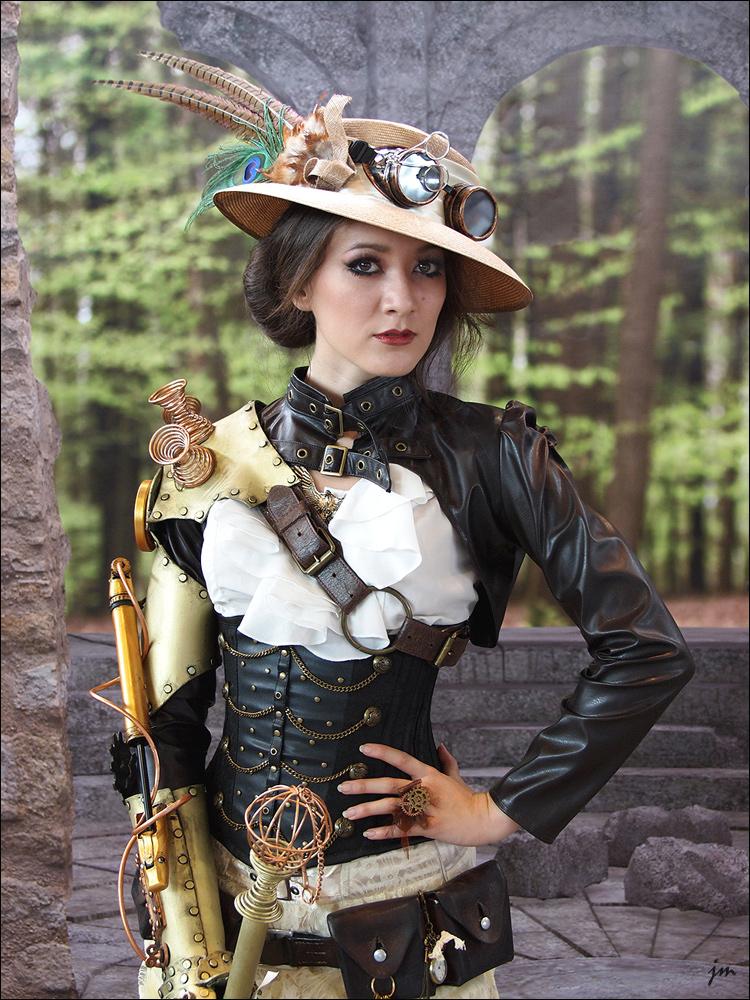 steampunk lady ii foto bild indoor steampunk cosplay. Black Bedroom Furniture Sets. Home Design Ideas