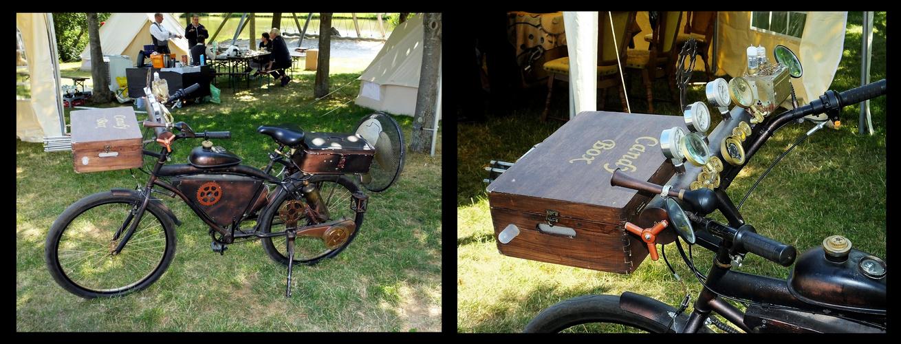 Steampunk Motorrad