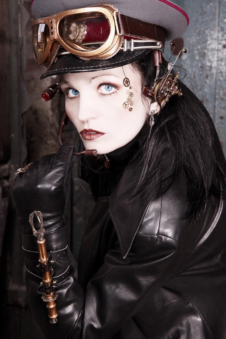 Steampunk-Portrait