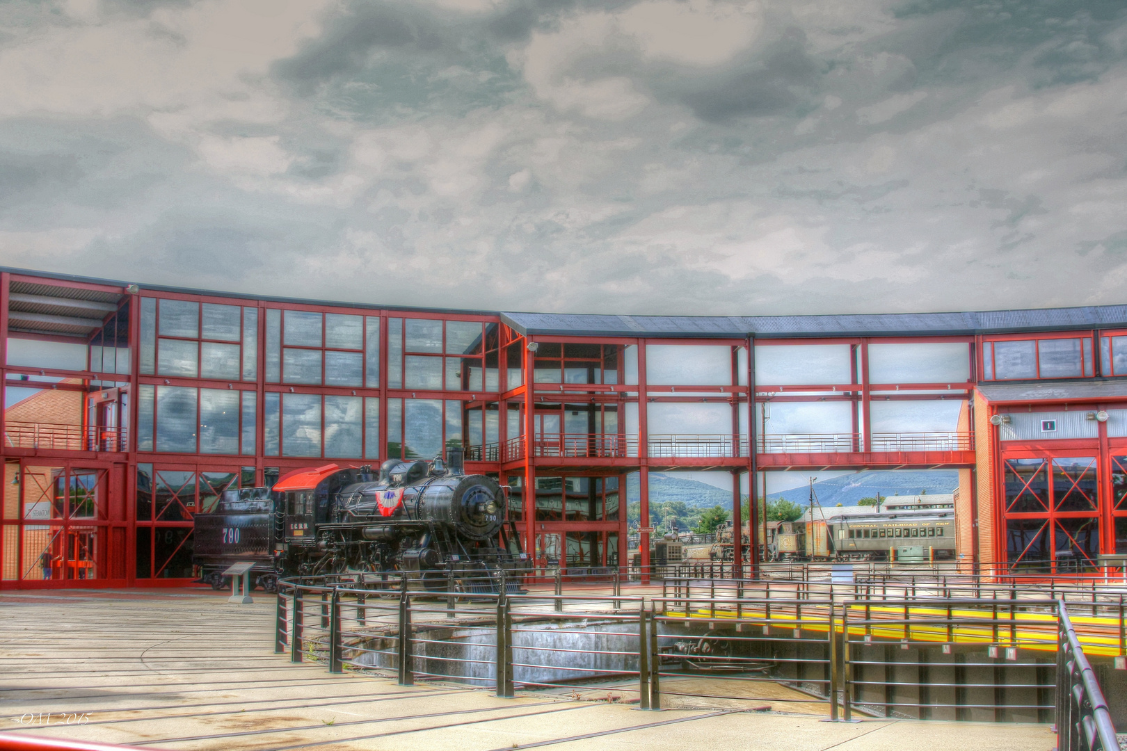 Steamtown National Historic Site.