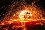 Steelwool on Fire!