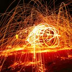 Steelwool on Fire!