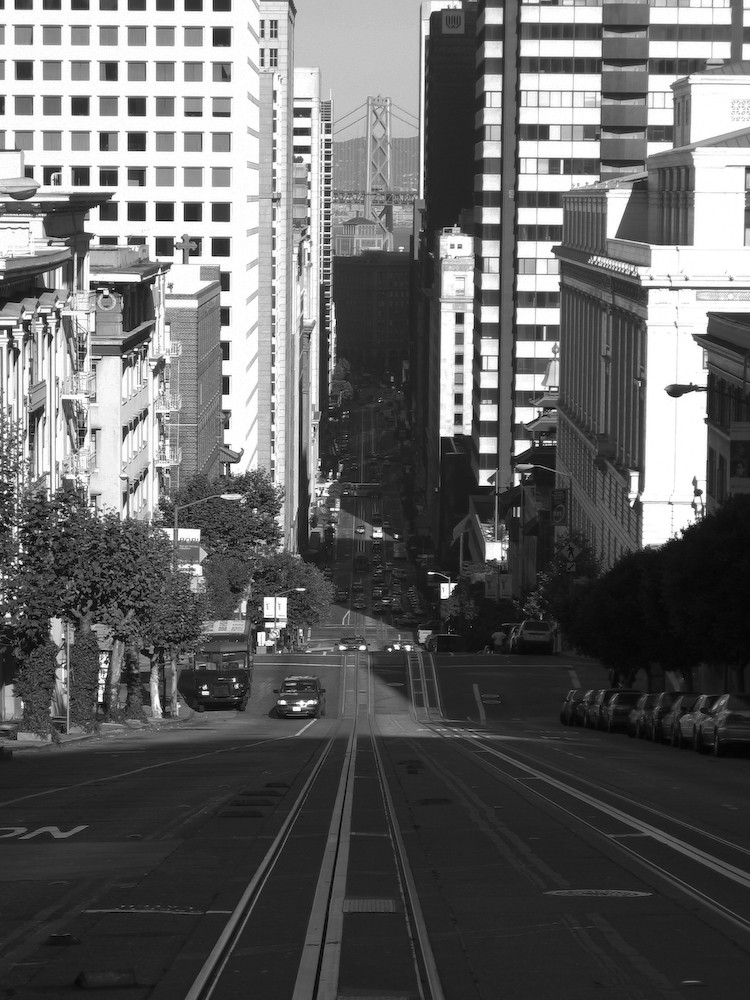 Steep street, San Francisco