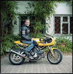 Stefan, Ducati 900ss Custom Racer