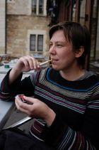 Steffi raucht