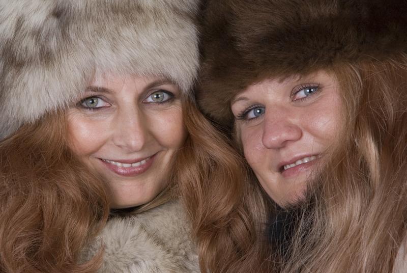Steffi und Sabine