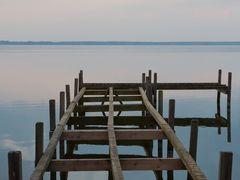 Steg am Steinhuder Meer