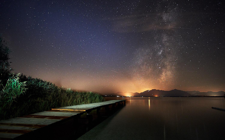 Steg Richtung Milchstraße