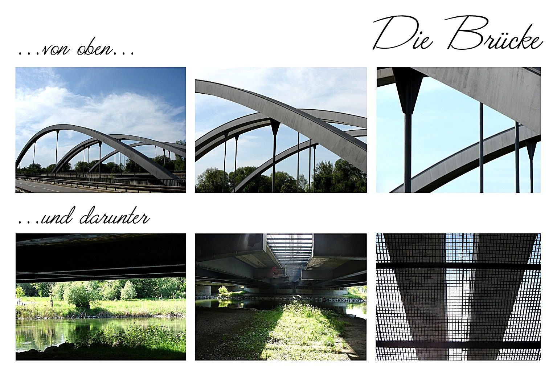 Stegen am Ammersee - die Brücke