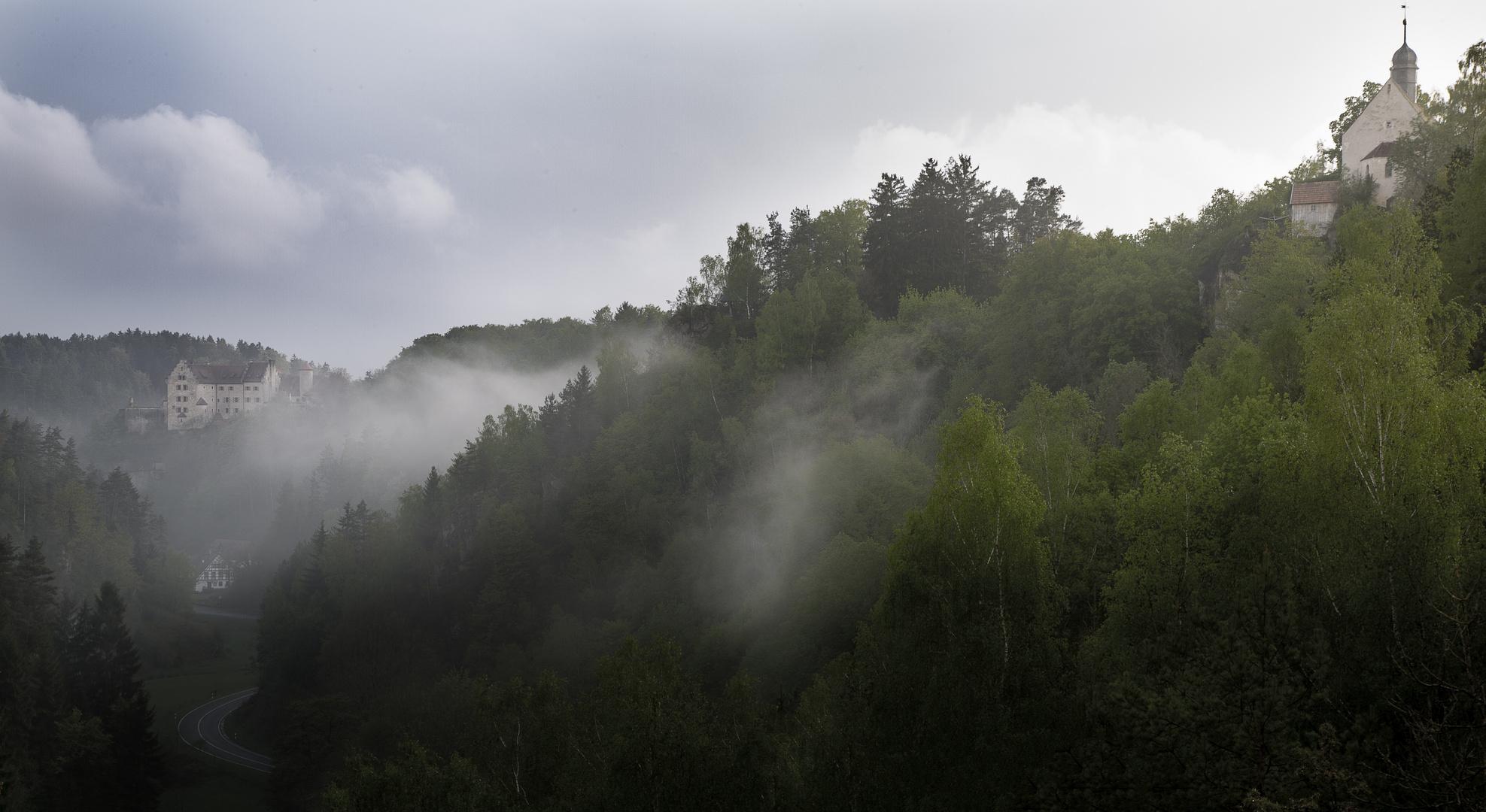 ... steigt der Nebel, wunderbar ...