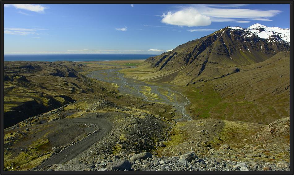 Steigung zur Skálafellsjökull