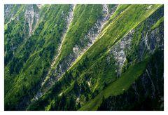 ...steile Flanken...