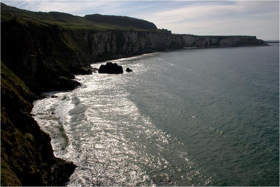 Steilküste...