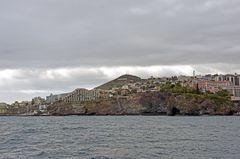 Steilküste am Ostteil von Funchal auf Madeira