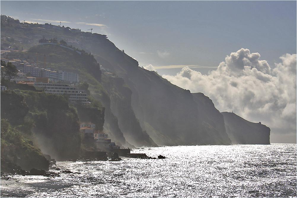 Steilküste am Silbermeer