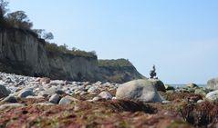 Steilküste Aprill am Enddorn