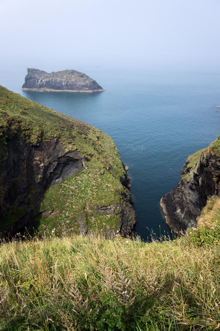 Steilküste bei Boscastle