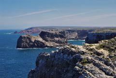 Steilküste bei Cabo de São Vicente