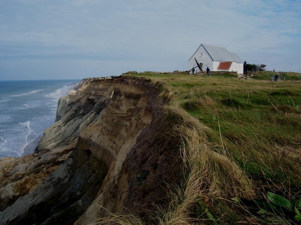 Steilküste Jammerbucht 2007