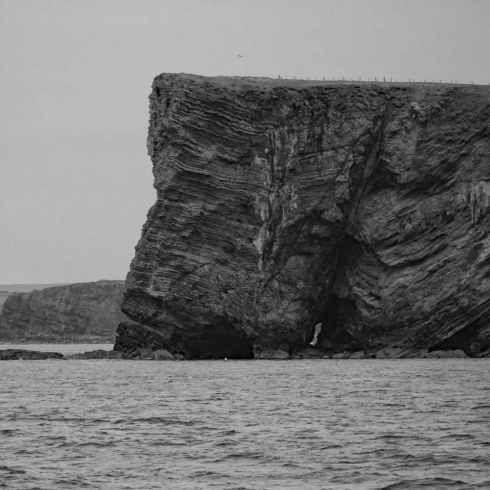 Steilküste von South Ronaldsay