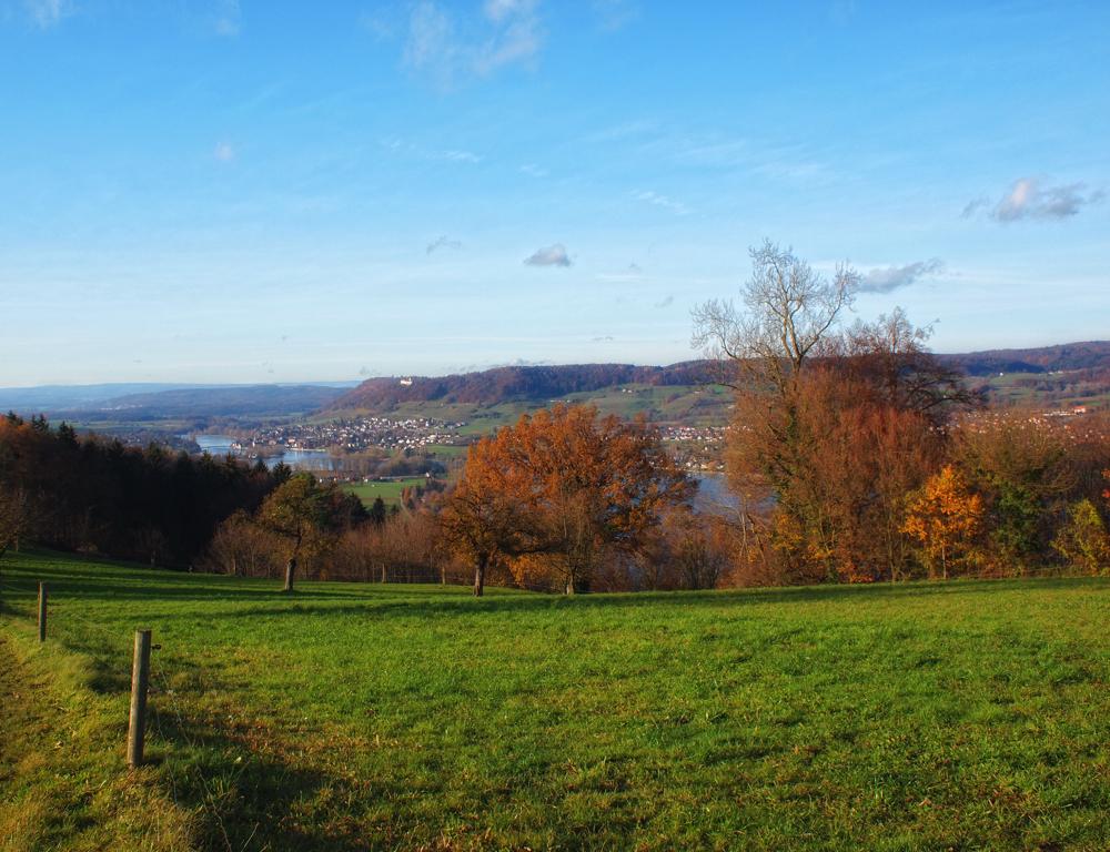 Stein am Rhein Sicht aus dem Thurgau