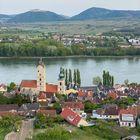 Stein an der Donau mit Blick auf das Stift Göttweig