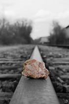 Stein im Weg