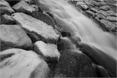 Stein, Wasser, Eis....