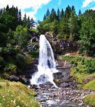 Steindalsfossen-Wasserfall