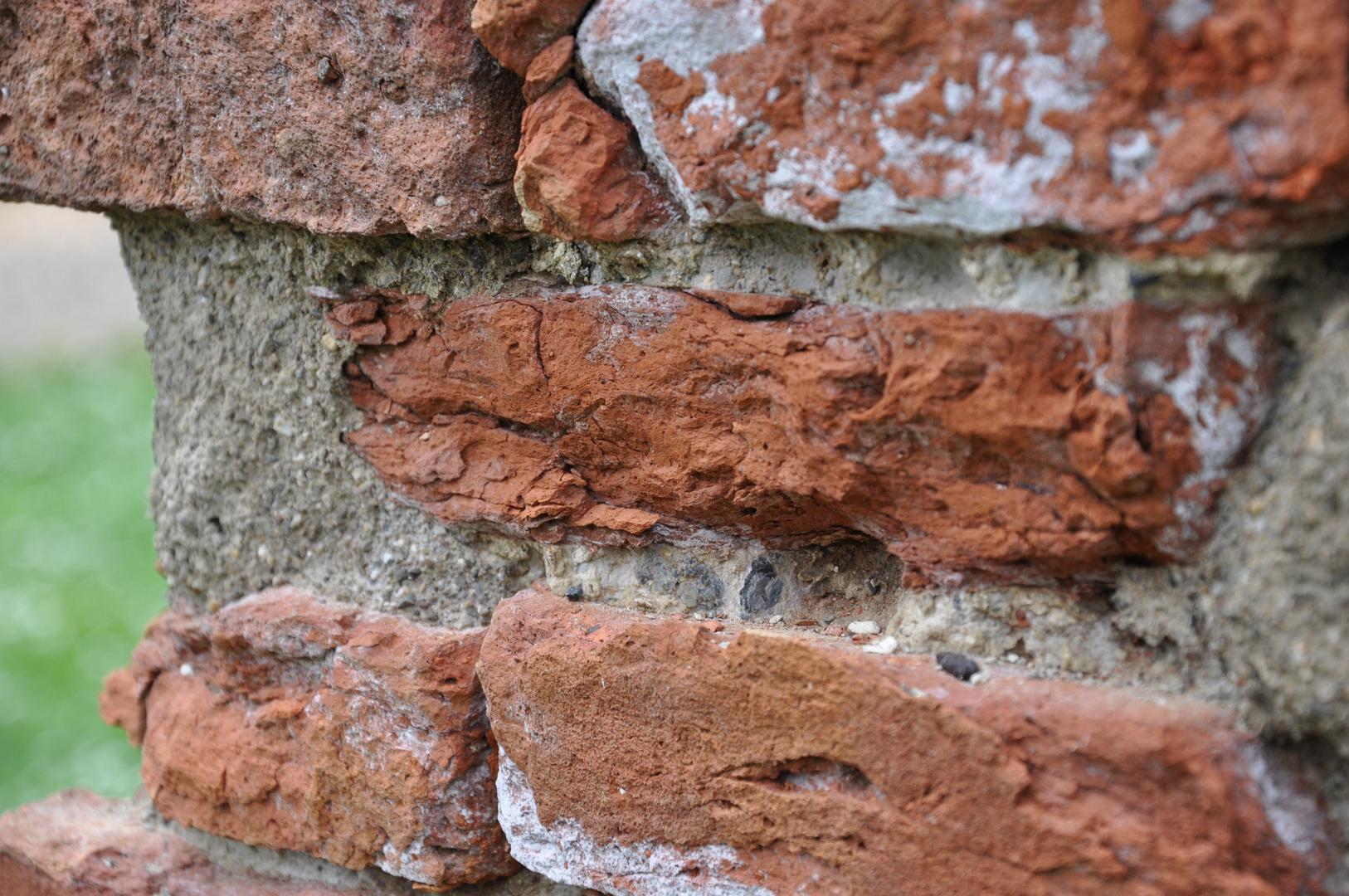 Steine einer toskanischen Wand