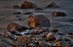 Steine im Licht