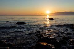 Steine in der Morgensonne