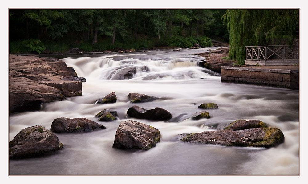 Steine und Wasser...