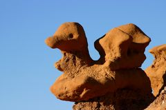Steinente in Goblin Valley Utah