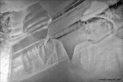 Steiner Brüder als Eis Skulpture