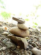 Steingestapel...
