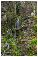 --- Steinhofer Wasserfall im Bergpark, Kassel.