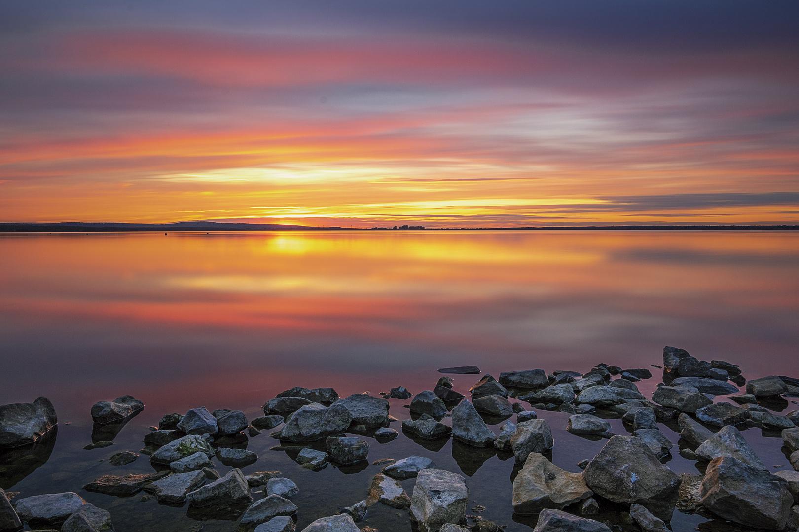 Steinhuder Meer am Abend