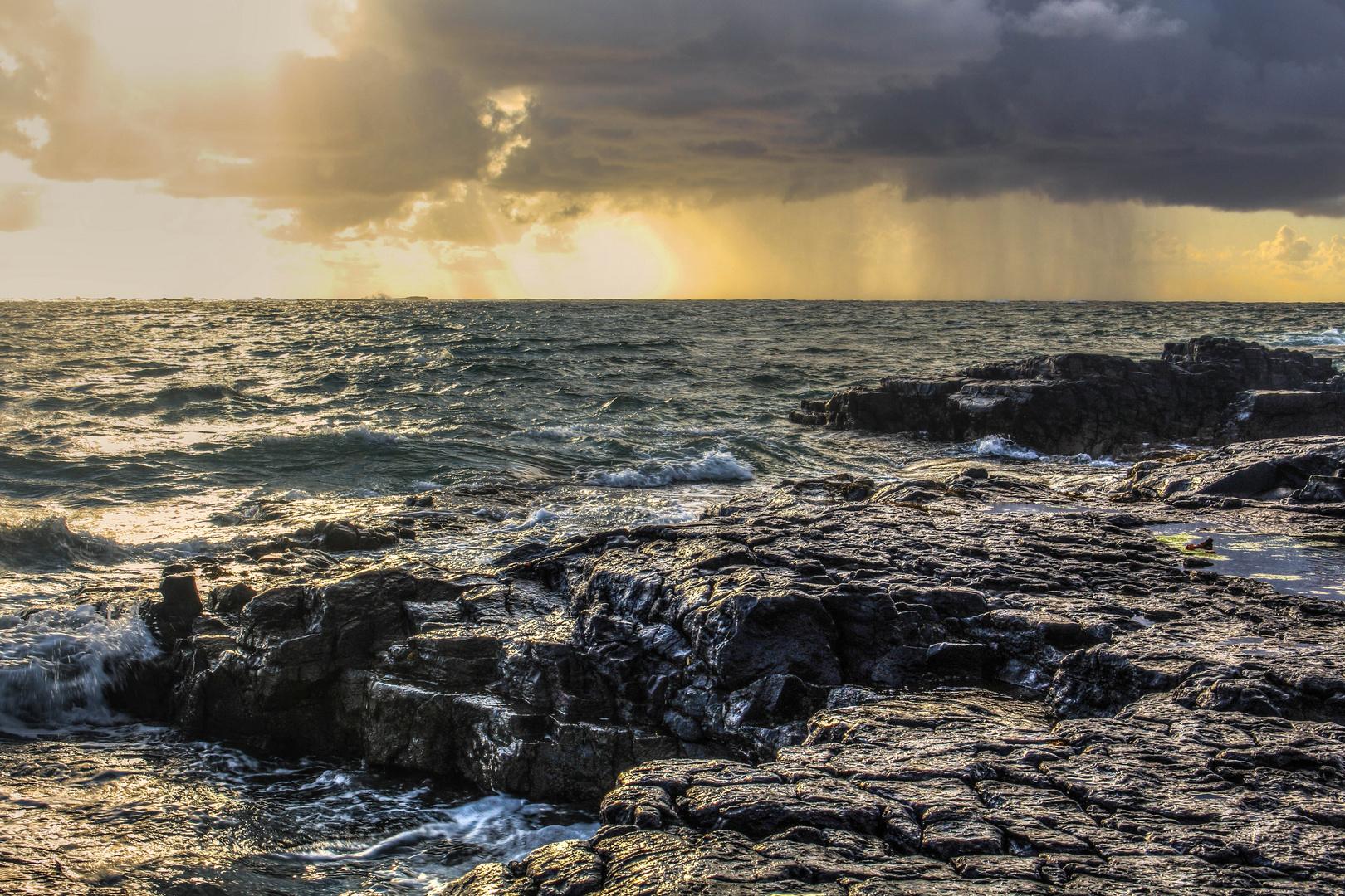 Steinküste Kilkee