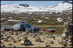 Steinmännchenparty am Nordpolarkreis