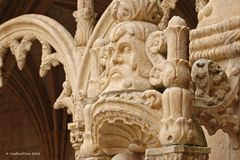 Steinmetzarbeiten aus dem Zeitalter der Manuelinik 1495-1521