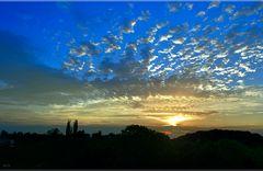 steirischer Sonnenaufgang