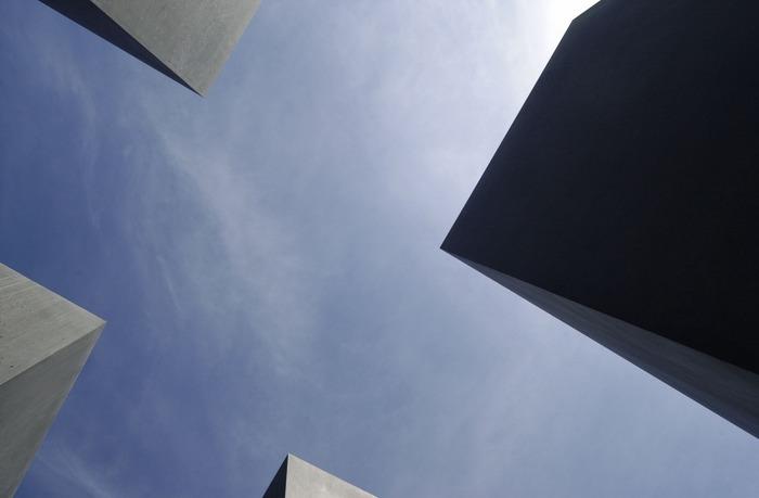 Stelen - Blick nach oben