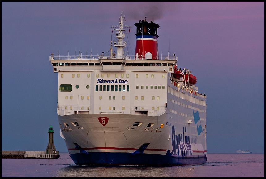 Stena Spirit in Gdynia