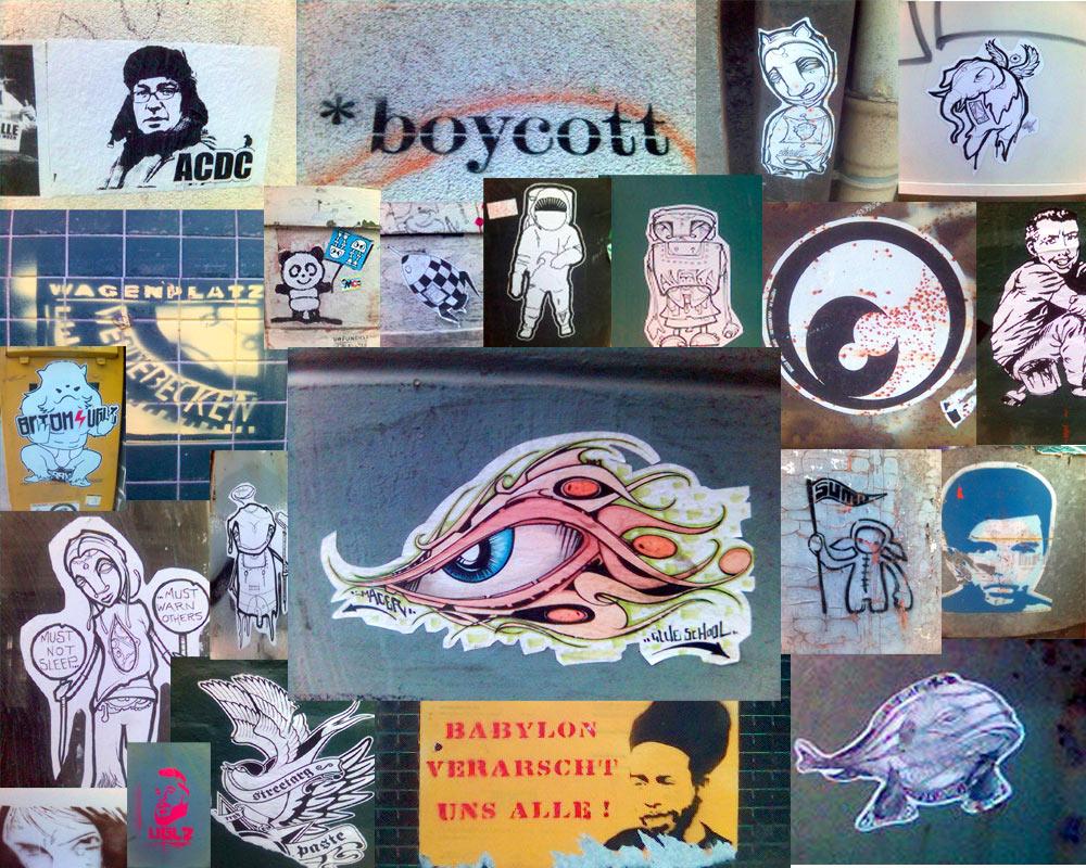 Stencils, Papers, Postart