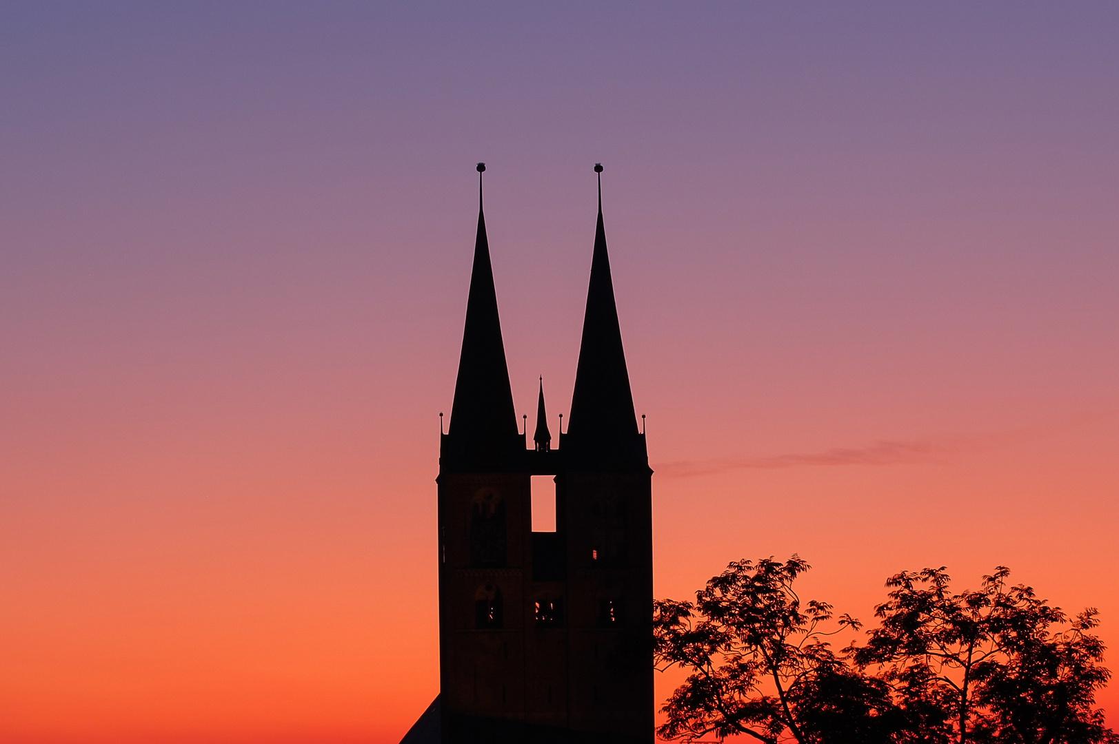 Stendal - Himmel über Marienkirche 2
