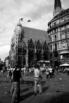 Stephansplatz Wien / WM Sommer