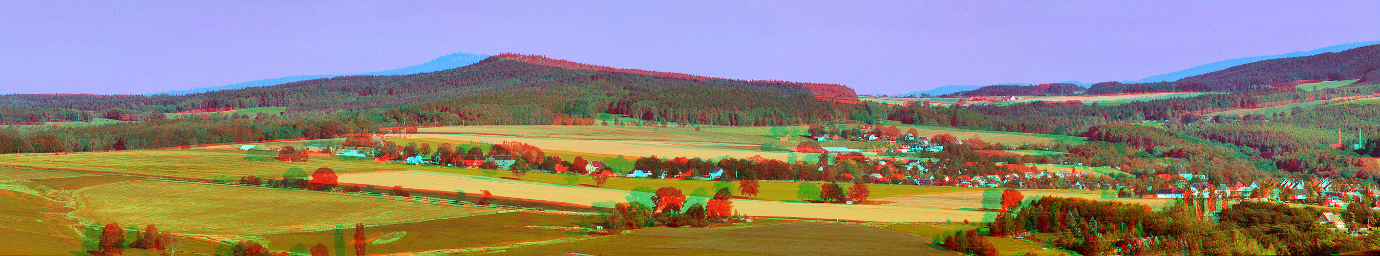 Stereoscopic Panorama  3D                              Size: 2600x500 Pixel